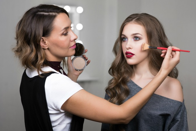 foundation touch up techniques for makeup artists