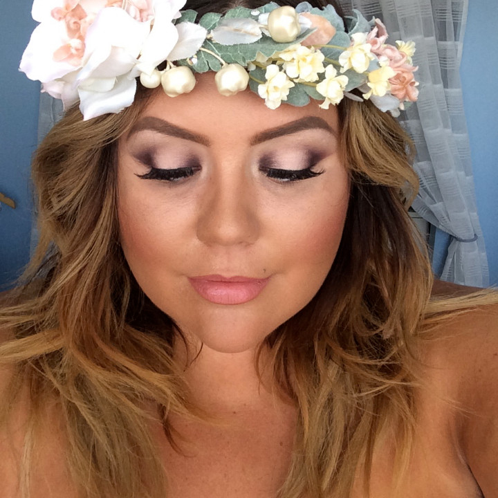 MAKEUP BY BRITTANY: A BEAUTIFUL BRIDAL MAKEUP LOOK