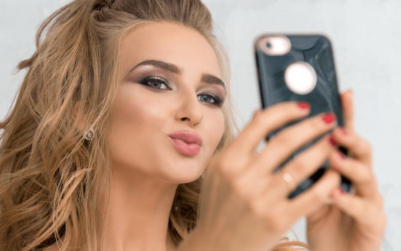 take makeup photo for portfolio