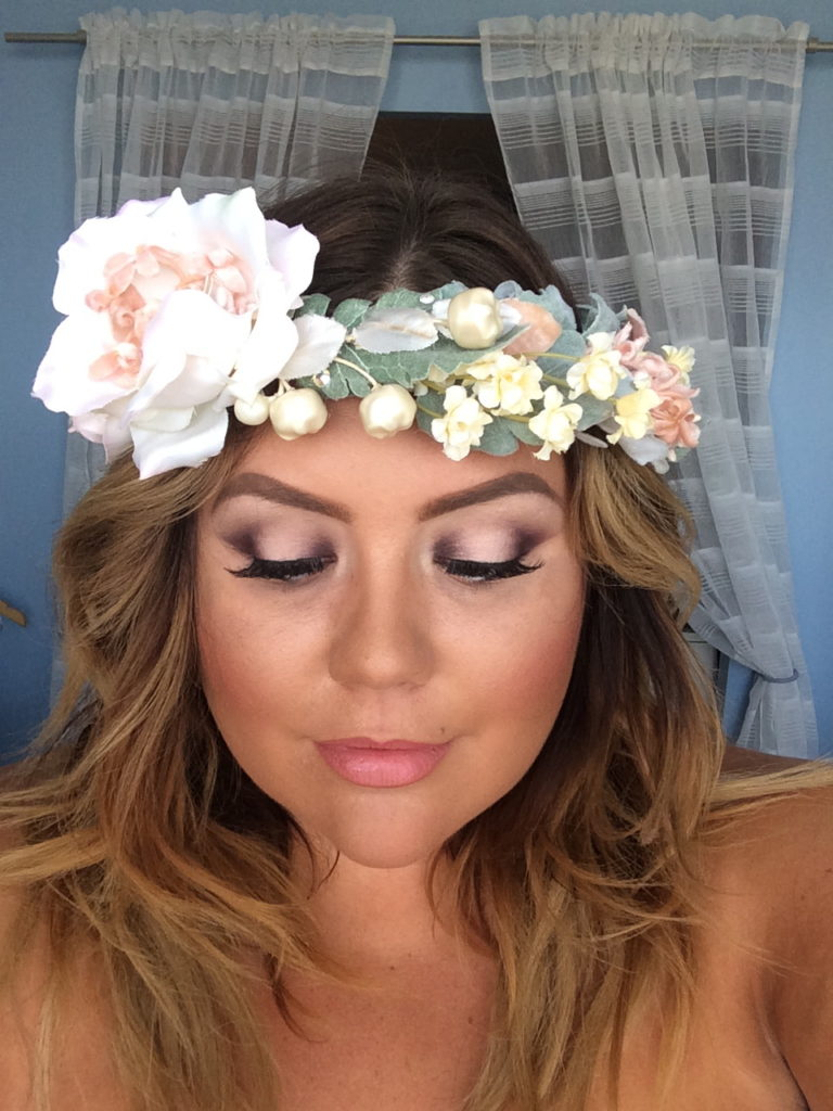 bridal makeup finished look