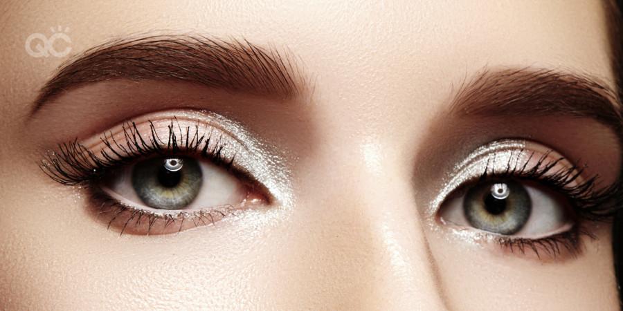 makeup artistry inner corner highlight on eyes