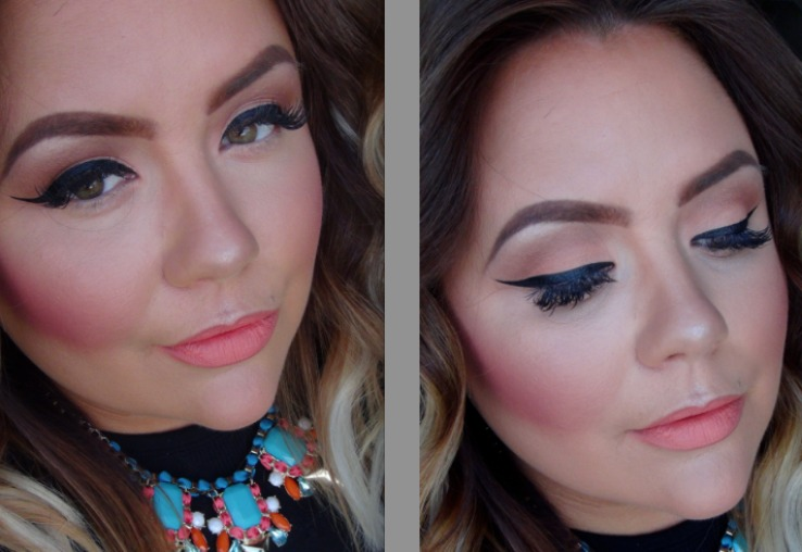 Brittany's Warm Winter Makeup Look
