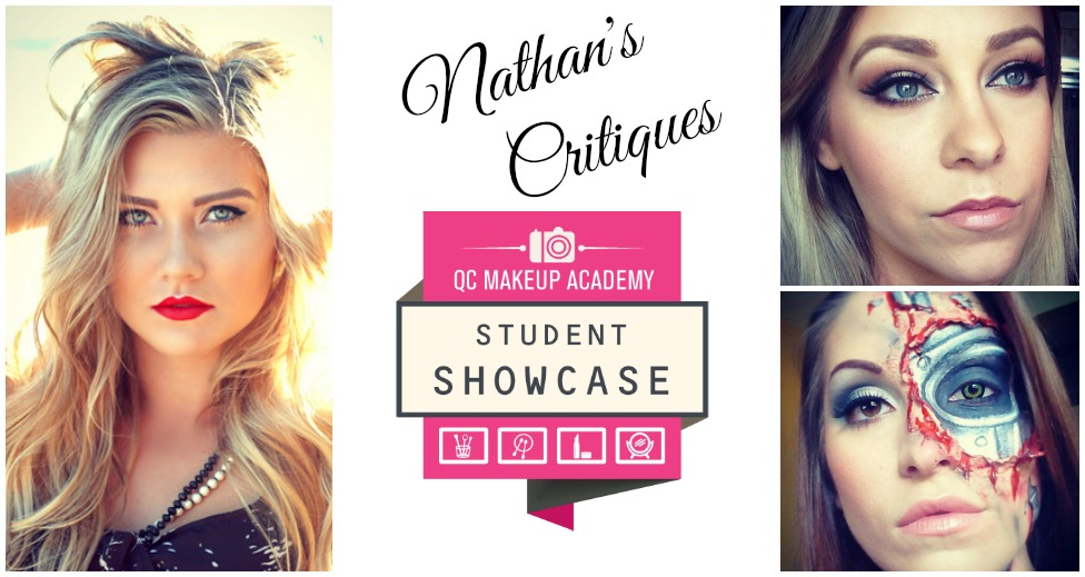QC Makeup Academy Showcase Critiques by Nathan Johnson