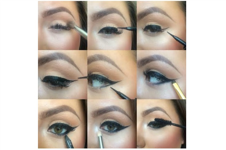 Fifty Shades Makeup Steps