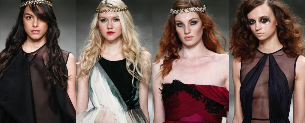 New York Fashion Week: Nathan's Runway Makeup Concept