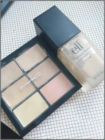 Makeup—Concealer & Foundation