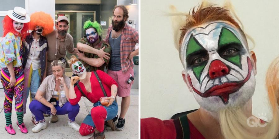 Nathan johnson as Janky Clown on HBO series High Maintenance