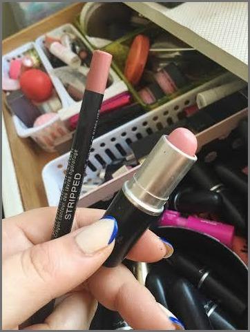 Makeup—Lipstick & Liner