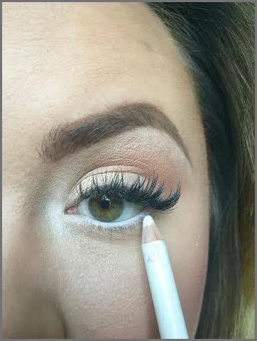 Makeup—White Eyeliner