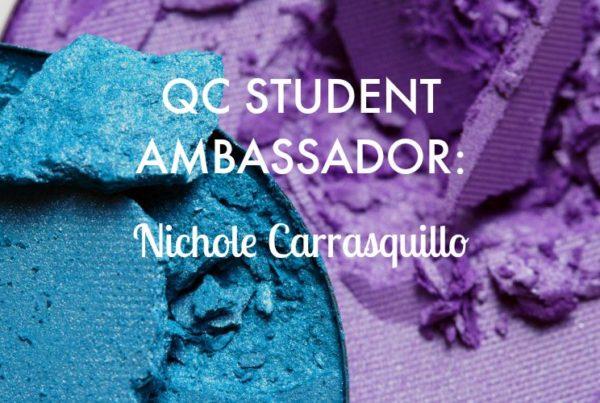 QC Makeup Academy student ambassador