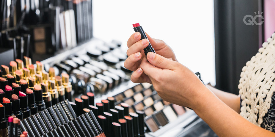 using makeup testers at makeup counter is not sanitary