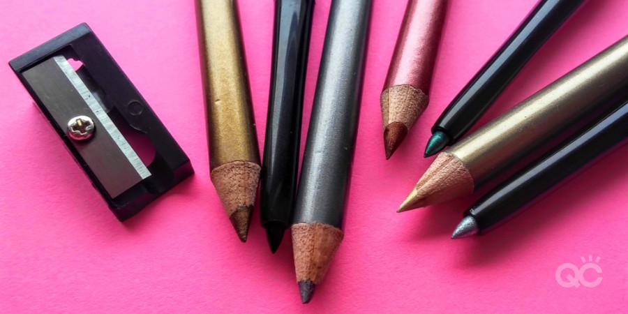 sharpen eyeliner pencils