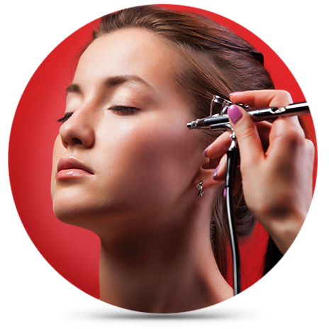QC Airbrush Makeup Certification Classes Unit A Icon