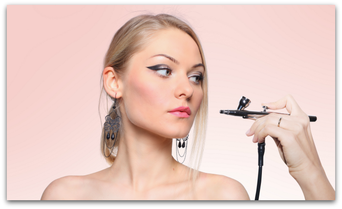 Learn airbrush makeup techniques online