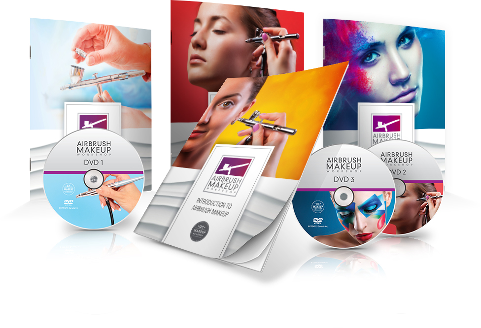 QC Airbrush Makeup Training Courses Materials Icon