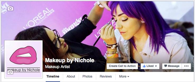 Nicholes Facebook Page