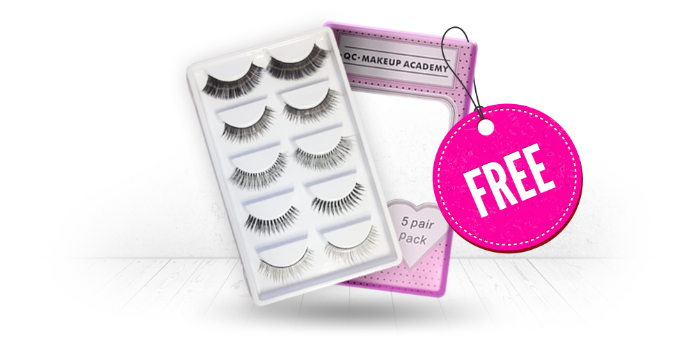 Free False Lashes - QC Makeup Academy