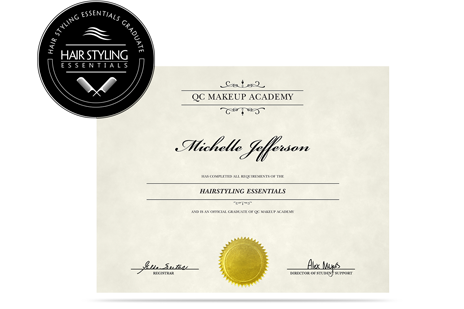Hair Styling Essentials certification