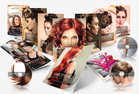 hair styling essentials course materials