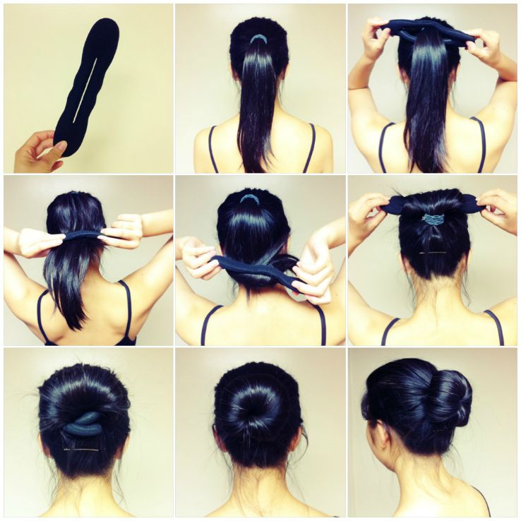 Magic Hair Bun for Summer Beauty Products