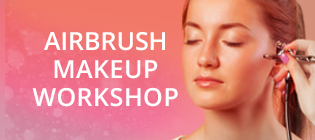 QC Airbrush makeup workshop beauty training