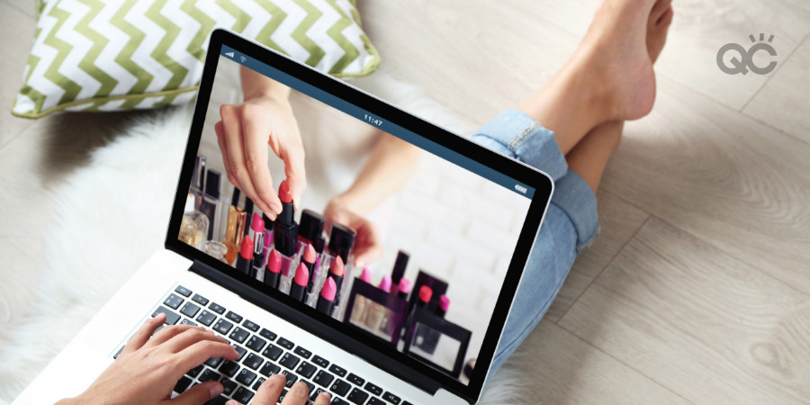 going online to find makeup artistry creative inspiration