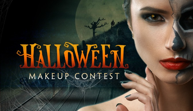 Halloween Makeup Contest Winner Cover