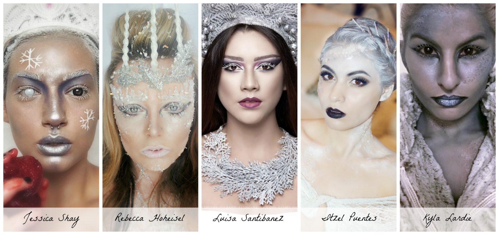 Evil Snow Queen Makeup Finalists