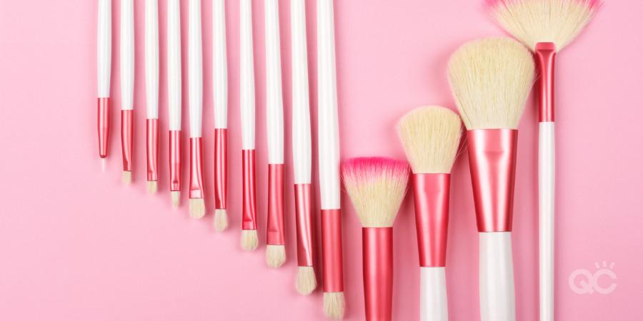 makeup brush set for a certified makeup artist