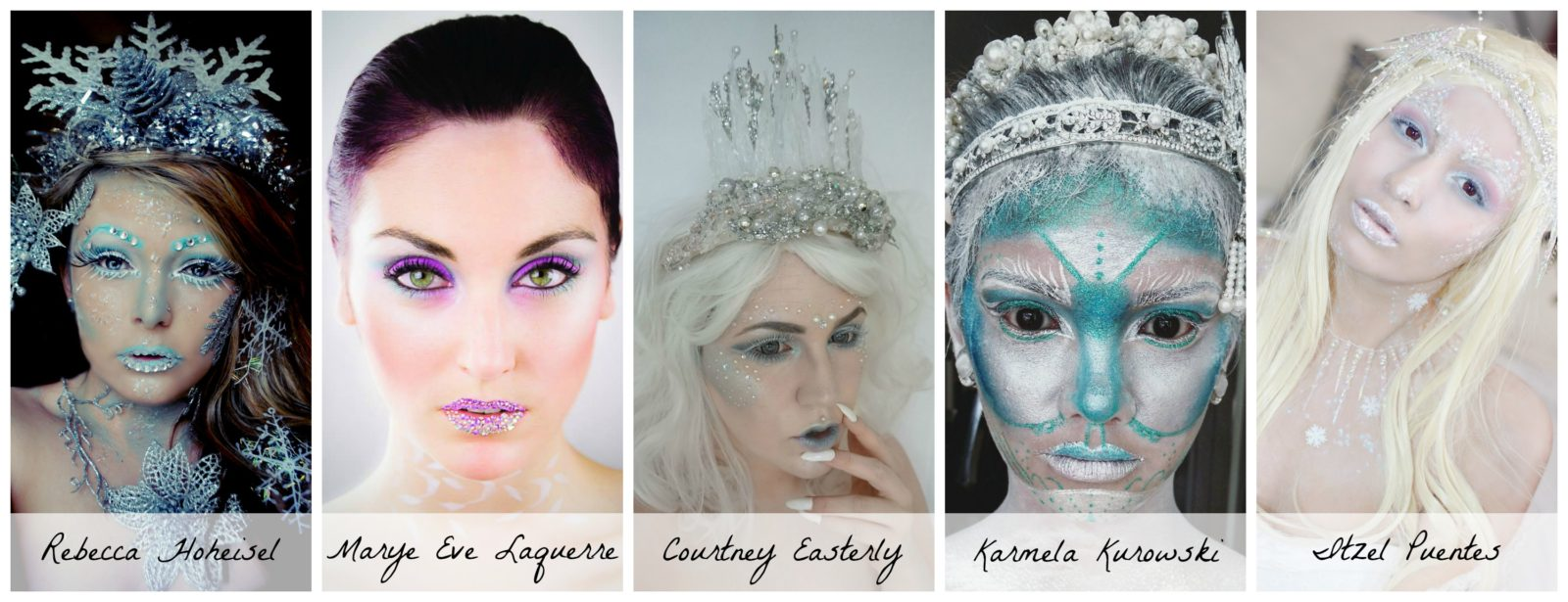 Winter Fairy Princess Makeup Finalists