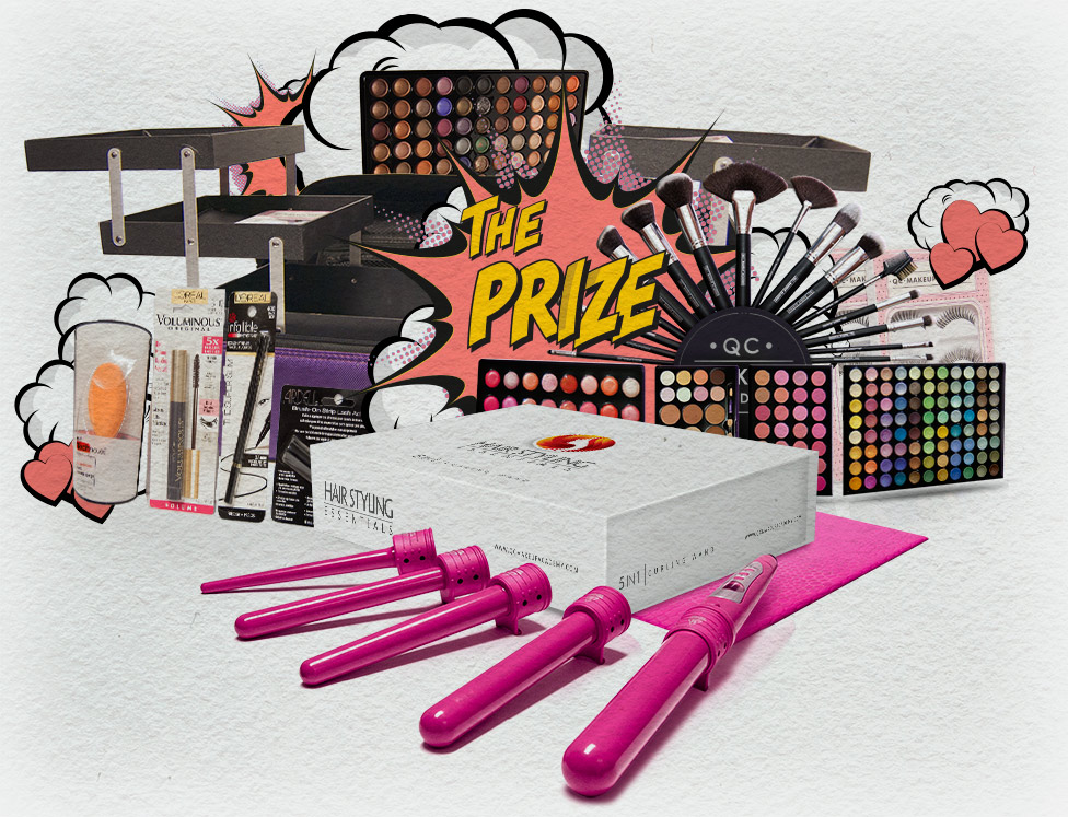Valentine's Day Makeup Contest Prize