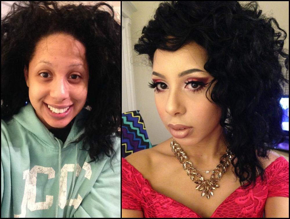 Rebecca Anne Hospedales Makeup Contest Finalist