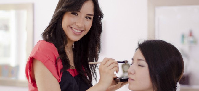 What do you love most about being a makeup artist?