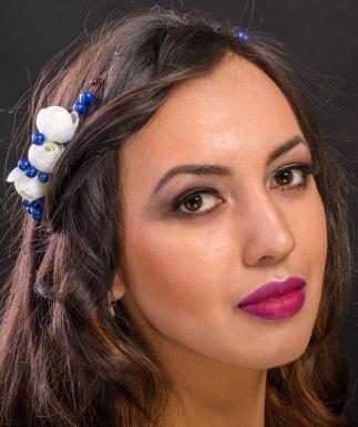 Spring hair accessory