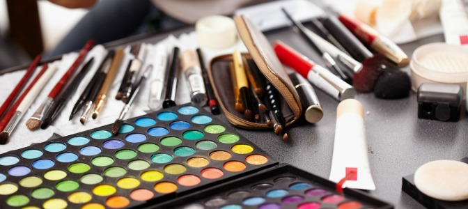 Where should you store your makeup kit?