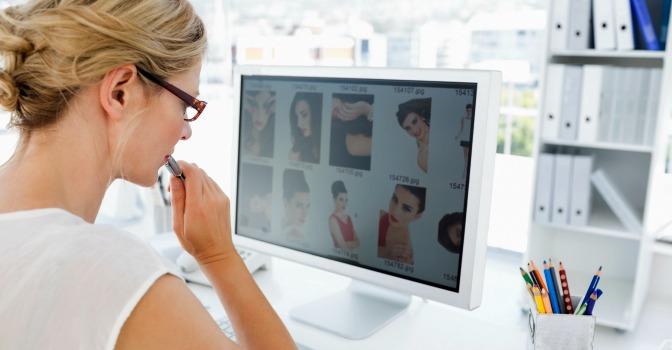 Editing makeup artistry portfolio photos