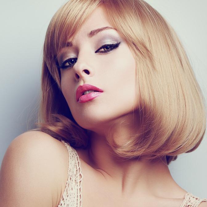 Instagram photo of makeup model