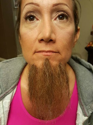 SFX beard by Allison Savoy
