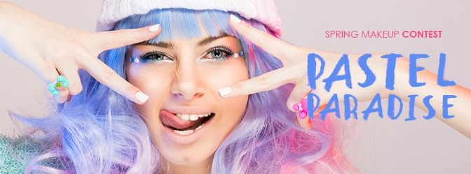 Pastel Paradise Makeup Contest—WINNERS REVEALED!