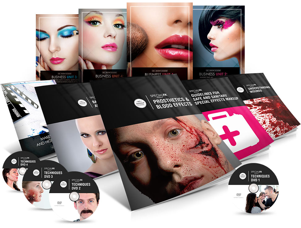Special Effects Makeup Training Course Material