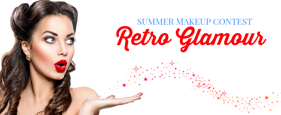 Retro Glamour Summer Makeup Contest—WINNER REVEALED!