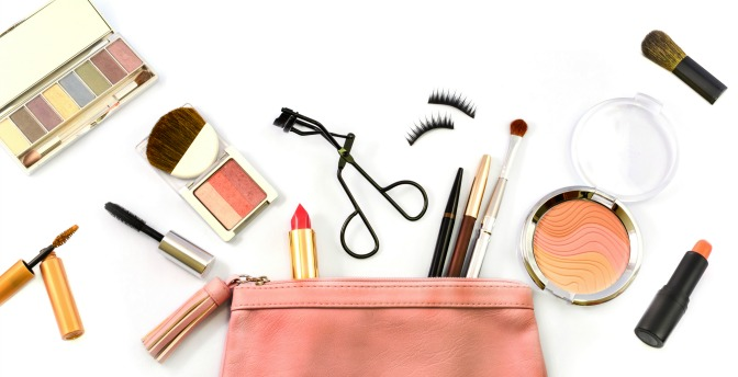 Pack your makeup carefully to avoid any spills or breakages