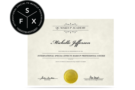 ISMP Special FX Makeup Artistry Certification