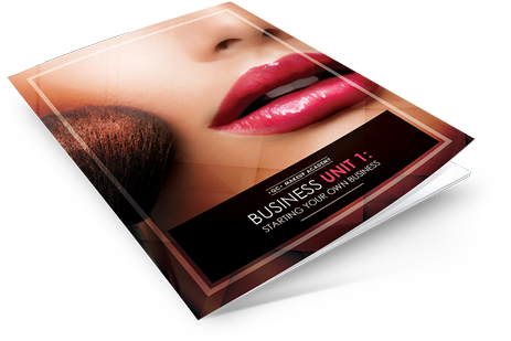 Starting your own makeup business course book