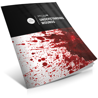 Understanding Wounds Special Effects Makeup Course book