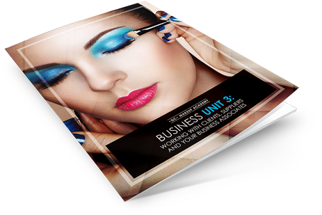 Working with makeup clients course book