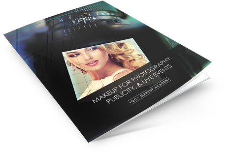 Makeup artist course for photogrphy, publicity and live events course book