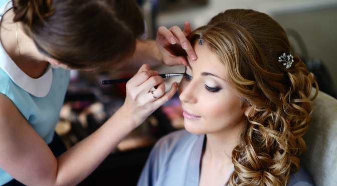 Could bridal makeup be part of Amber's future career? Definitely!