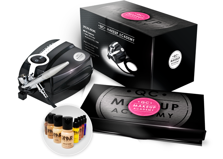 QC Airbrush Makeup Starter Kit Free
