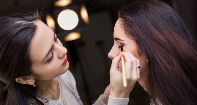 Gaining confidence in your abilities as a makeup artist takes time, but it will come!